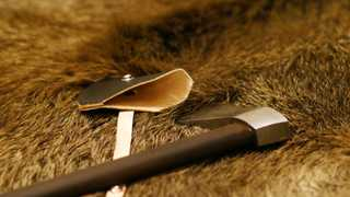 Hand-made case for Valaška Shepherd's Axe by Daniel Rychter. All products by Daniel Rychter have…