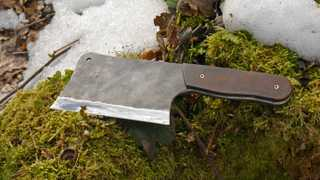 Our Sharp Blades Meat Cleaver is perfect partner for your trips to nature, in home can help you…